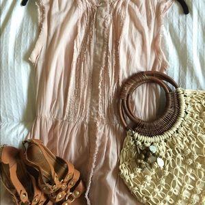 Ann Taylor LOFT Dress Blush Size 4
